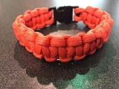 Freedom Red Survival Paracord Bracelet